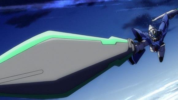 ガンプラ アニメ ガンダムビルドファイターズ アイラ エクシア F91 トランザム