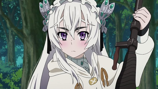 アニメ 棺姫のチャイカ 感想 7話 還らずの谷 妄想 プラネタリウム