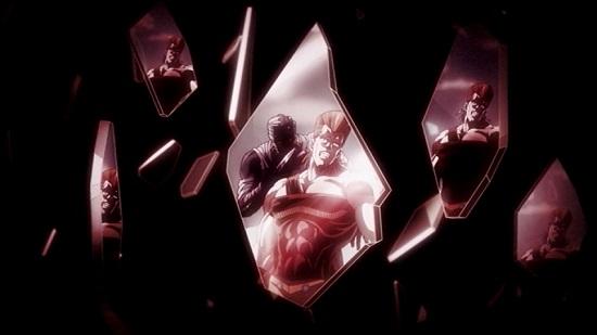 アニメ ジョジョの奇妙な冒険 スターダストクルセイダーズ 11話 皇帝(エンペラー) 吊られた男(ハングドマン) J・ガイル ホル・ホース ポルナレフ 花京院