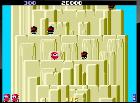 PS4 アーケードアーカイブス レトロゲーム 忍者くん 魔城の冒険 シェア