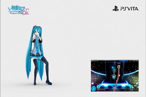 初音ミク project-DIVA-F2nd 3月27日 発売 振付 踊りながらプレイ PSVITA
