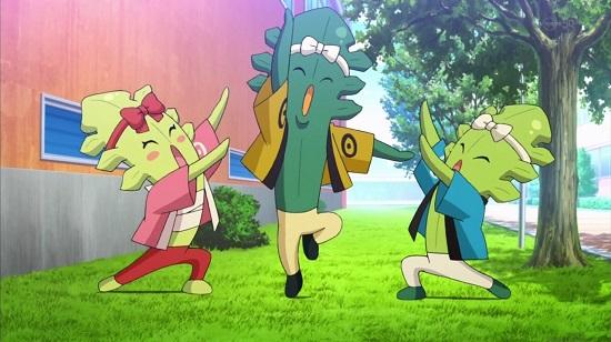 アニメ 妖怪ウォッチ 13話 感想 コマさん コマじろう 口だけおんな じんめん犬 ワカメくん コンブさん メカブちゃん