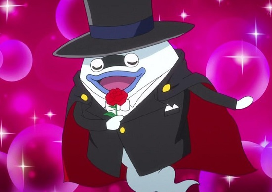 ゲームアニメ 妖怪ウォッチ 14話 感想 コマさん コマじろう じんめん犬 しゃれこ婦人 ジミー 大脱走 田舎者コント