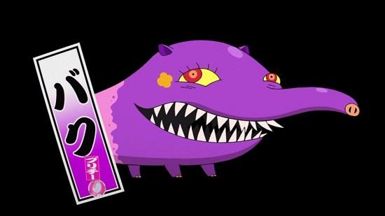 ゲームアニメ 妖怪ウォッチ 19話 感想 バク ジバにゃん ブシにゃん ウィスパー フミちゃん キュウビ キュウビのキュンキュン大作戦 遊園地編