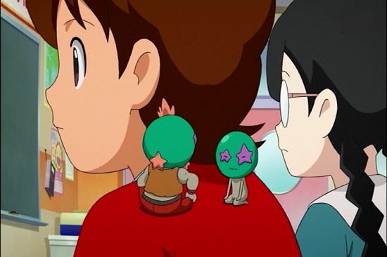 ゲームアニメ 妖怪ウォッチ 小学生 肩こり 22話 感想