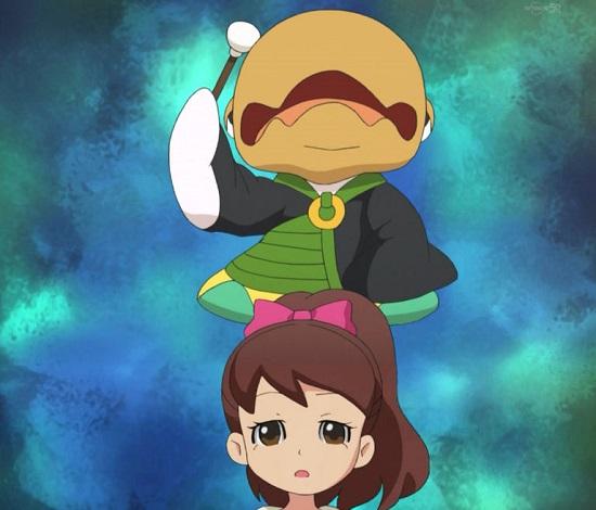 ゲームアニメ 妖怪ウォッチ つづかな僧 三日坊主 ナガバナ フゥミン 21話 アニメ 感想 ケータ君 フミちゃん ジバにゃん ウィスパー