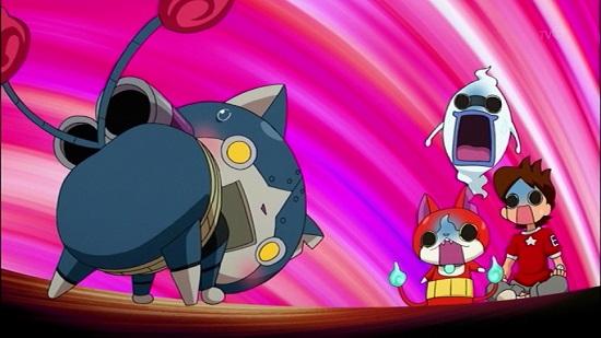 ゲーム アニメ 妖怪ウォッチ 23話 感想 からくりベンケイ ロボニャン 問題回 神回