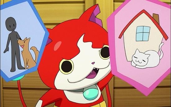 3DS ゲーム アニメ 妖怪ウォッチ ウィスパー ジバニャン エミちゃん ジバニャンの過去 タイムスリップ ダサい 天界 人間界 地獄界 死神 アカマル ドンヨリーヌ 金 銀 ミキ さやか 魔法少女まど