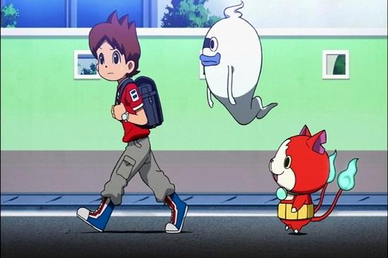 ゲーム アニメ 妖怪ウォッチ 3DS サトリちゃん 26話 黒い フミちゃん ニャーKB