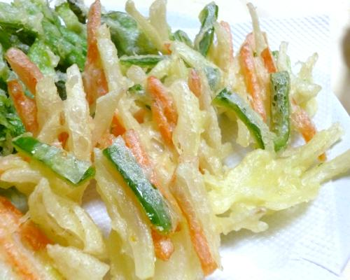 R140406野菜かき揚げ