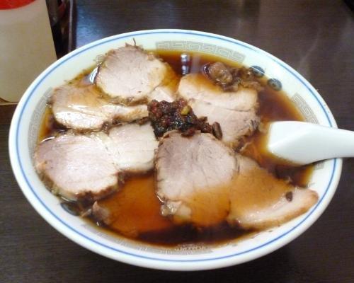 140414大江戸 醤油チャーシュー麺