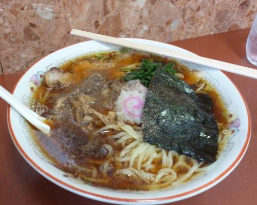 140812青島食堂ラーメン