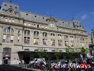 パリ サンラザール駅