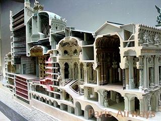 オルセー美術館 オペラ・ガルニエ 模型