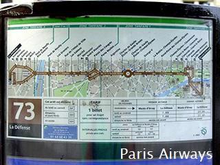 パリ バス 73系統