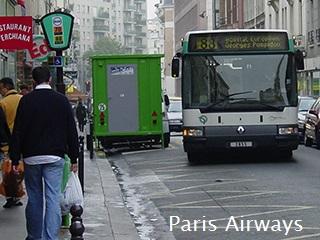 パリ バス 88系統