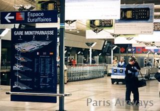 パリ モンパルナス駅