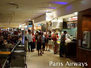 パリ louvre ルーブル フードコート
