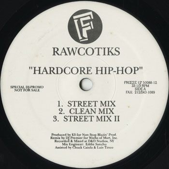 HH_RAWCOTIKS_HARDCORE HIP HOP_201405