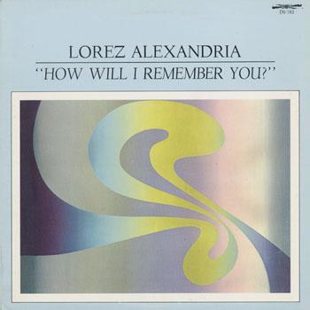 JZ_LOREZ ALEXANDRIA_HOW WILL I REMEMBER YOU_201407