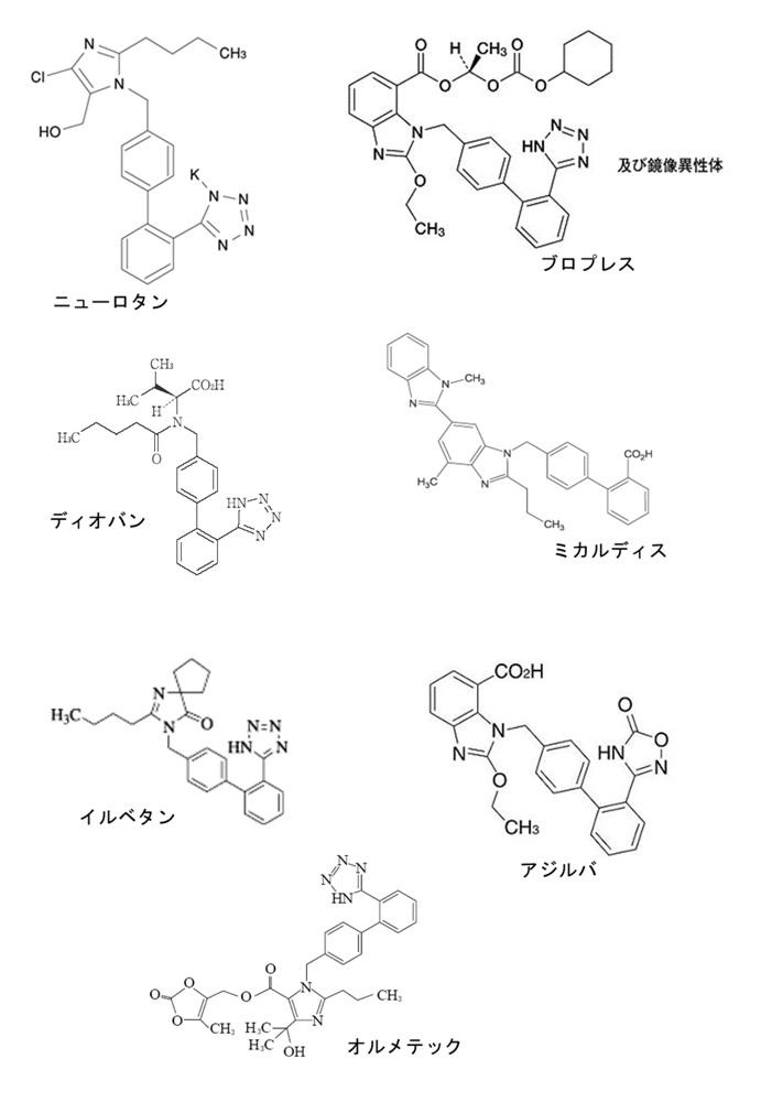 抗ヒス構造式