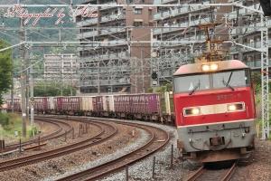 3095レ(=EF510-9牽引)
