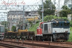 8864レ(=EF64-1023+KE65-1(ムド))