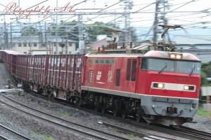 4076レ(=EF510-19牽引)