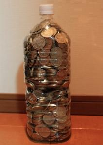 500円玉貯金、満額!(2回目)