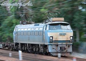 86レ(=EF66-32牽引)