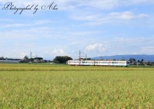 関宿の帰り道、偶然に三岐鉄道に遭遇!(棒読み)