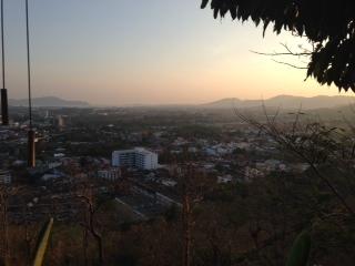 トゥンカカフェからの景色