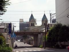 Matsugamine Kirche an der Tobu Bahn