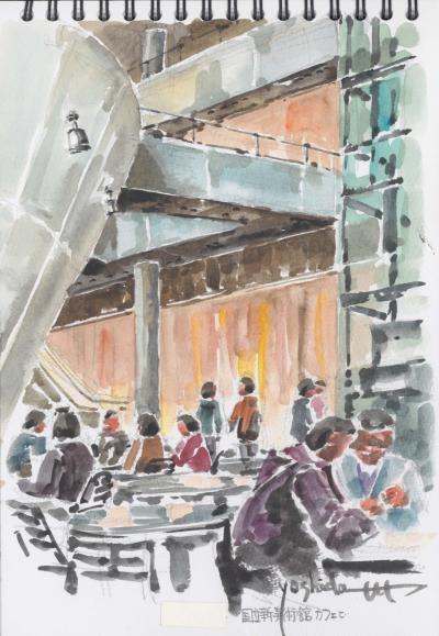 オープンカフェ/国立新美術館