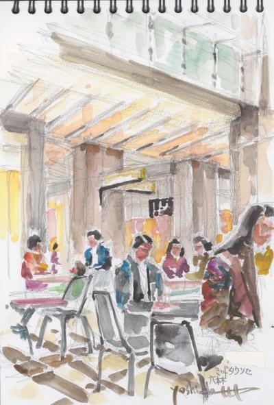 オープンカフェ/ミッドタウン