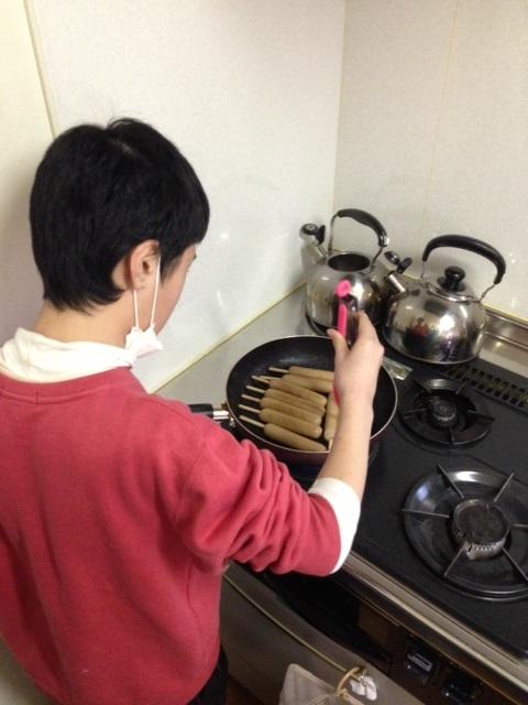 たくちゃん調理2