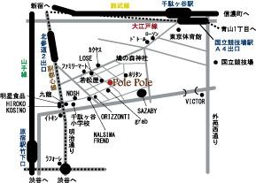 帽子-Pole Pole-ポレポレ-地図