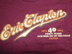 [写真]エリック・クラプトン ジャパンツアー2014 来日40周年記念Tシャツのロゴ部分
