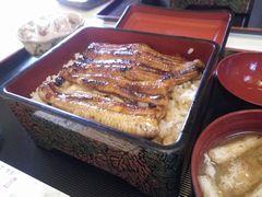[写真]君津・弥七の鰻重定食ランチ