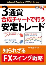 3通貨合成チャートで行う安定トレード 知られざるFXスイング戦略