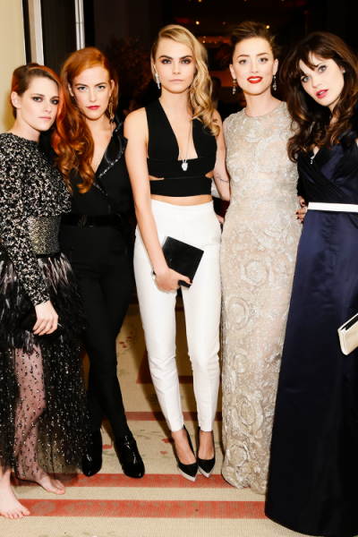 0507 Kristen, Riley Keough, Cara, Zoe
