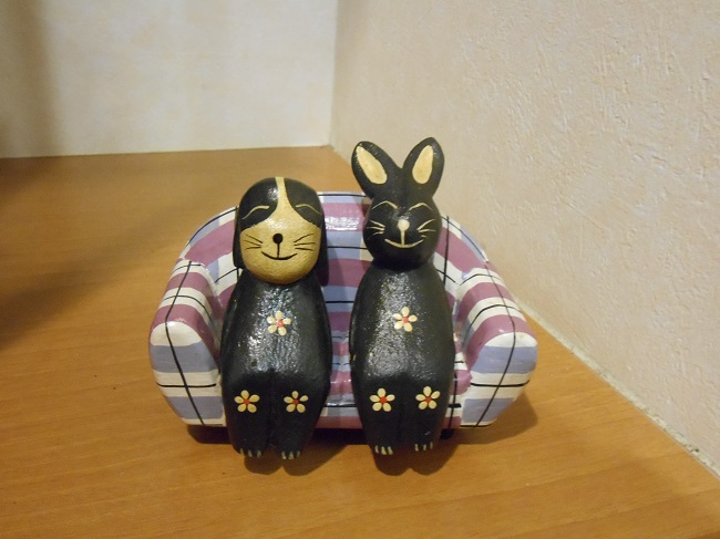 00 ウサギと犬?