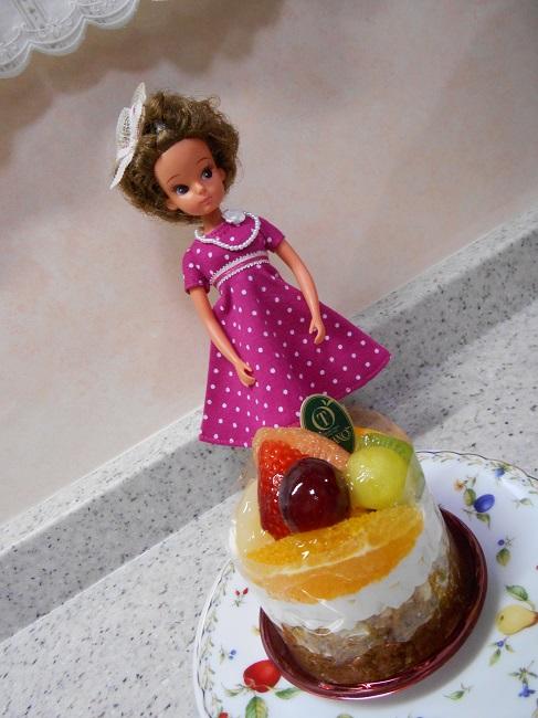 1 cake Licca