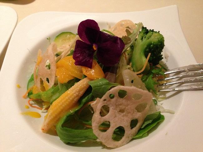 1 季節の野菜サラダ