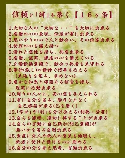 信頼絆16