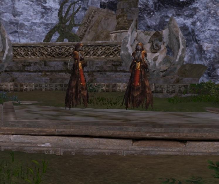 滝の裏の双子の幽霊
