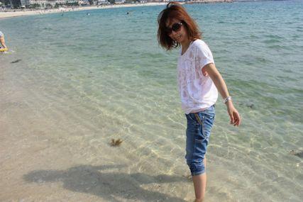 2014May白良浜マキ