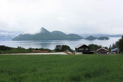 ゴーシュ前から見る洞爺湖
