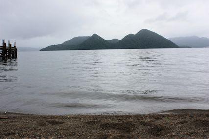 洞爺村の洞爺湖