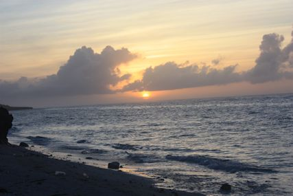 ぴざ浜の日の出